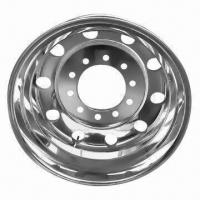 Buy cheap Forged Aluminum Alloy Truck Wheel with TR546D Valve from wholesalers