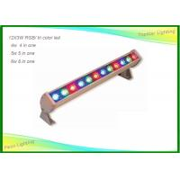 12pcs Outdoor / Indoor LED Wall Wash Lights Tri Color 24 X 3w for Stage Party Manufactures