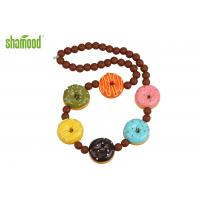 Cute String Swinging Air Freshener Cappuccino Fragrance For Car Rear View Mirror Manufactures