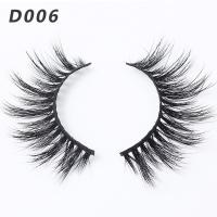 Quality Handmade 3D Mink Lashes 100% 3D Real Mink Fur Strip Lashes New Style for sale