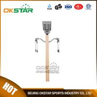 wooden street lamp outdoor fitness upper limb exercise trainer Manufactures