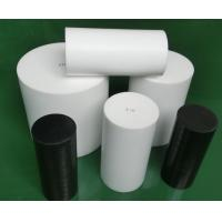 Natural White Virgin Molded PTFE Rod Self Lubricating With High Performance Manufactures