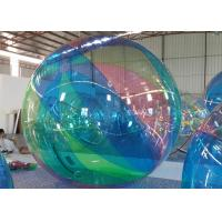 1.0 mm PVC Green Inflatable Water Walking Ball For Amusement Park Manufactures