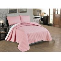 Beautiful Pink Quilted Coverlet Custom Made Bedspreads Full Size Bedspread Manufactures
