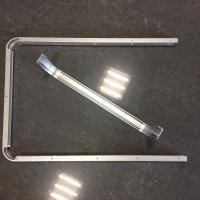 Custom Small Radius Aluminum Bending Profiles with Silver Anodized Manufactures