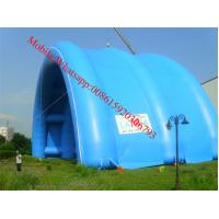 PVC Giant Inflatable Tent Inflatable Air Supported Structures Giant Stage Cover Dome Tent Manufactures