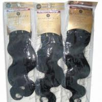 6 to 32-inch Long Hair Weave, Machine-made, Made of 100% Human Hair Manufactures