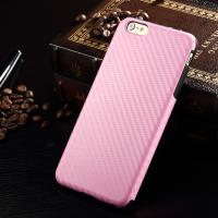 Protective Iphone 7 Leather Back Cover Pink Color Scratch Resisitant 52g Manufactures