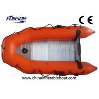 Lightweight Aluminum Floor Foldable Inflatable Boat Two Man Inflatable Kayak Manufactures