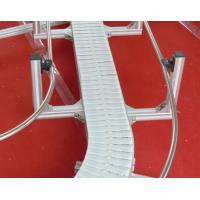 China acetal flat top  chains XL185 ALUMINIUM MODULAR CONVEYOR SYSTEMS  TOBACO CHAINS white color on sale