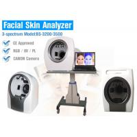 China Portable 12 Mega Pixels Skin Analysis Machine , Skin Moisture Analyzer on sale