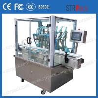 6 Head Piston Filling Machine 30-50 BPM Chemical Filling Machine Manufactures