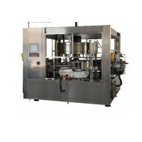 380V Cold Glue Glass Bottle Labeling Machine For Beverage / Chemical Manufactures