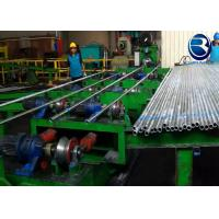 Type 168 GI Water Pipe Automatic Pipe Threading Machine With 65kw Total Installed Power Manufactures