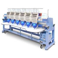 Popular Multi Head Computer Embroidery Machine Bed Sheets T Shirt Socks Clothes Use Manufactures