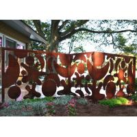 Beautiful Outdoor Metal Wall Art Decor And Sculptures For Fence Decoration Manufactures