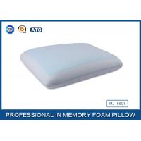 Classic Memory Foam Cooling Gel Pillow with Light Blue Cool Pillow Case Manufactures