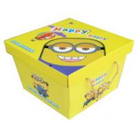 Handmade Colored Gift Custom Printed Cardboard Boxes Cartoon Printing Design Manufactures