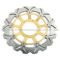 Quality Durable Motorcycle Brake Disc Heat Treatment With Color Anodized for sale