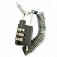 3-digit Security Lock for Notebook/Laptop and Computer, No Pin to Reset Manufactures