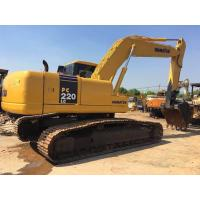 22 tonnage Second hand Komatsu excavator PC220-7 with water collant engine & A/C cab Manufactures