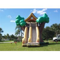 Tree Shape Commercial Inflatable Slide , China Inflatable Slide With Great Fun Manufactures
