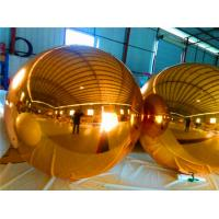 Commercial Inflatable Helium Balloons Fireproof 0.3mm Mirror Cloth Ball Manufactures