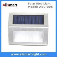 20LM Solar Step Lights Solar Stair Lights 3LED Solar Fence Lights Outdoor Waterproof Security Wall Lamps Manufactures