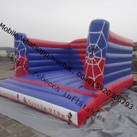 inflatable spider man bouncy castle Manufactures