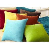 Multiple Colors Elegant Couch Pillow Covers Soft Comfortable For Bed / Car Manufactures