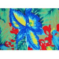 Colorful Patterned Polyester Fabric Non - Flammable Density 72 X 40 Manufactures
