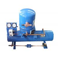 MGM64 Water Cooled Refrigeration Condenser Open Chiller With Maneurop Hermetic Reciprocating Compressor Manufactures