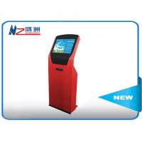 New style design LED hotel lobby kiosk charging with WIFI internet , red Manufactures