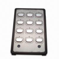 China 12-key IR Remote Control with Aluminum Nameplate on sale