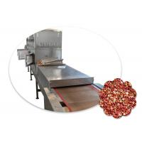 Microwave Chili Drying Machine 120kW Tunnel Structure 18500×1450×1800mm Manufactures