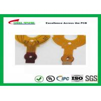 0.5 Copper Rigid-flexible PCB  5mil PET Material FPC 20*35mm Manufactures