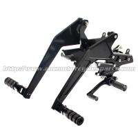 High Precision Motorcycle Rearsets For Kawasaki Er6n Custom Parts Manufactures