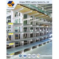 NOVA Heavy Duty Cantilever Racking , Double / Single Sided Cantilever Rack Manufactures