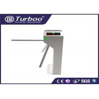 China RFID Vertical Tripod Access Control Turnstile Gate Intelligent 3 Arm With Sensor on sale