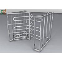Full Height Turnstile Security Systems, Double Way Access Control Turnstiles Gate Manufactures