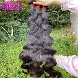 China 10A Cuticle Aligned Hair , Raw Virgin Human Peruvian Malaysian Hair Smooth on sale