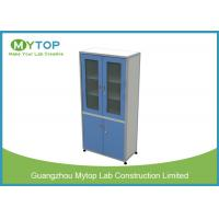 Aluminum And Plywood Laboratory Cupboards For Dry Medicine 900 mm Width Manufactures