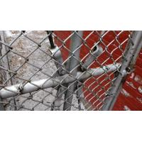 15m Length 150cm Height Pvc Coated Garden Temporary Chain Link Fence Manufactures