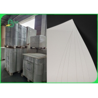 Smooth 889mm 350um Synthetic Paper Sheet For Notebook Folding Resistance