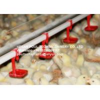 Poultry & Livestock Farm Silver Steel Automatic Broiler Chicken Floor Rearing System with Nipple Drinker System Manufactures