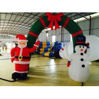 Advertisement Blow Up Santa Claus Decoration Opening Ceremony Use Manufactures