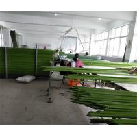 Environment Friendly Garden Support Green PE Coated Steel Garden Stake Manufactures