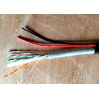 Buy cheap Double Jacket PE+PVC UTP CAT6+2C Network with Power Cable Outdoor Video Wire from wholesalers