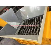 Multifunctional Tire Shredding Machine , High Torque Tyre Recycling Equipment Manufactures