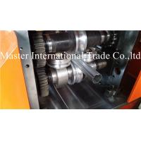 H - Beam Round Water Pipe Forming Machine Locked Metal Gutter Making Machine Manufactures